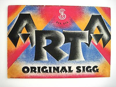 "1929 ""ARTA - KATALOG"" Sigg A.-G. - Metal Wares Factories - German Language  *"
