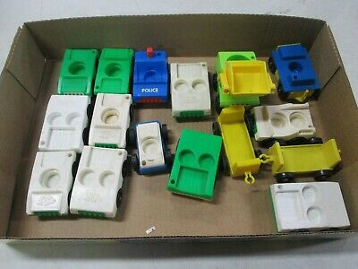 16 1970's-80's Fisher Price Little People Vehicles