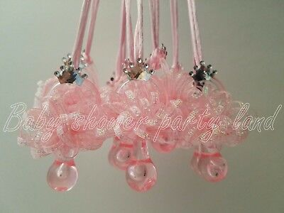 12 Princess Pacifier Necklace Baby Shower Favor Prize Game Girl Decor - Princess Baby Games