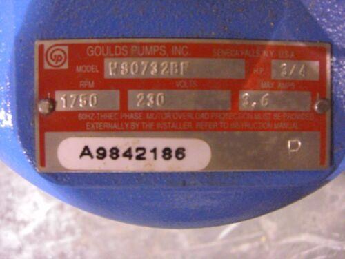 WS0732BF Goulds Sewage Pump