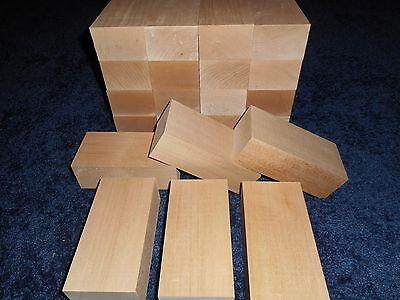 "2"" x 3"" x 6"" Basswood Carving Wood Blocks Craft Lumber *KILN"