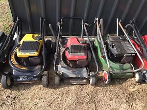 2 stroke mowers Panania Bankstown Area Preview