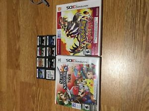 3DSXL, DS, jeux, chargeur, caisse