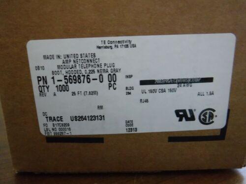 Tyco Amp TE 1-569876-0 Snagless Boot 1000pcs