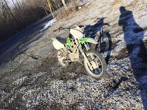 Looking to trade my 06 klx 125 for an 07 crf 230f