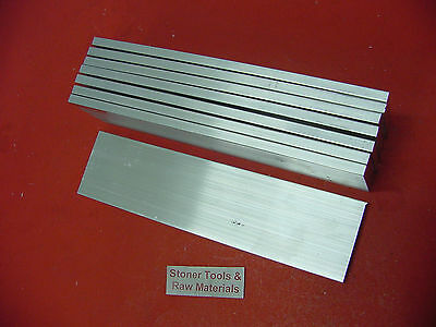 8 Pieces 14 X 2 Aluminum 6061 Flat Bar 12 Long T6511 .25 Plate Mill Stock