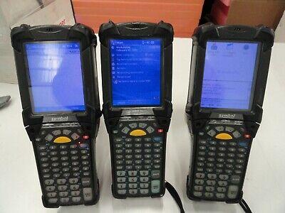 Lot Of 2 - Symbol Mc9090-gf0hjefa6wr Scanner Unit Only Wbattery