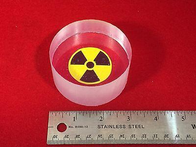 Bicron Bc408 Plastic Scintillator 3 Diameter By 1.5 Length 75 X 38 Mm Bc-408