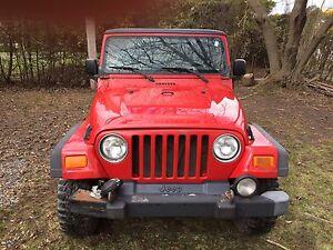 Jeep TJ 4.0litres, 2003