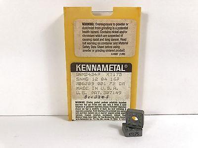 KENNAMETAL SNMG434P New Cermet Inserts Grade KT175 10pcs O