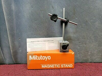 Mitutoyo Magnetic Base Stand 7010sn W Box