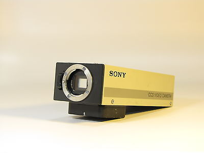 Sony Avc-d1 Ccd Camera For Olympus Dtv-3 Microscope