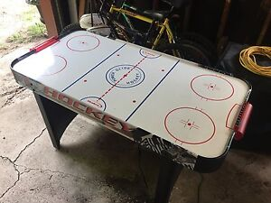 Air Hockey Table, Barely Used, 5 ft long, plugs in