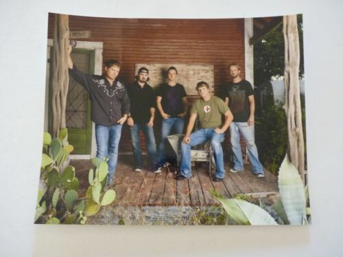 Randy Rogers Band Country Music 8x10 Color Promo Photo #2
