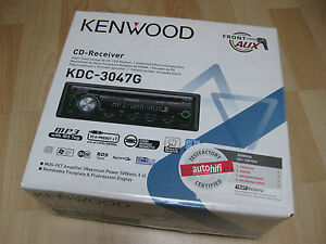 Kenwood KDC 3047G CD-Tuner CD, CD-R, CD-RW, MP3,WMA