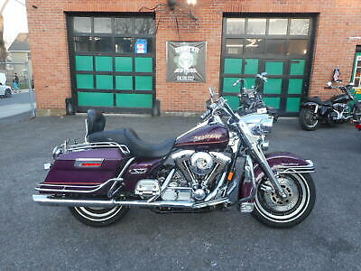 1997 Harley-Davidson Touring  1997 HARLEY DAVIDSON FLHR ROAD KING 1340 EVOLUTION 34,258 MILES FACTORY PURPLE