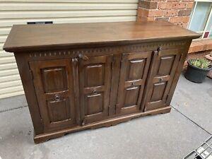 Solid Wood Bali Cabinet Cupboard Table Buffet Credenza