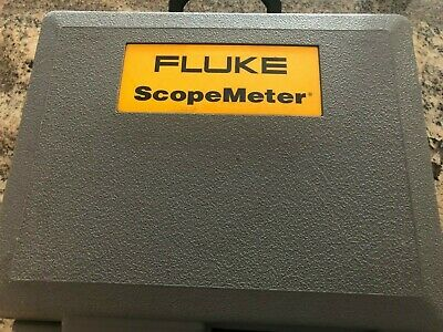 Fluke 105b Series Ii Scopemeter 100mhz W Test Leads And Probe