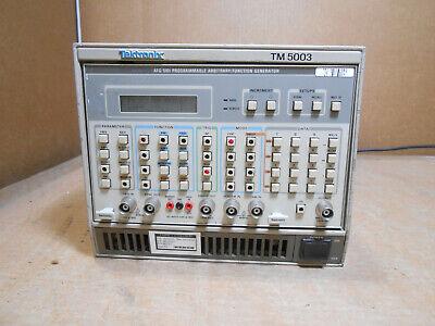 Tektronix Tm 5003 Afg 5101 Programmable Arbitraryfunction Generator