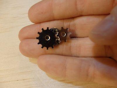 Vintage Steampunk Gear lapel Pin tie tack