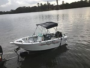 2007 Aluminum side console limited edition fishing boat like new Burwood Burwood Area Preview