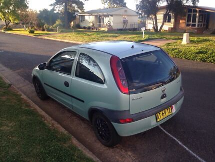 2001 Holden barina  Muswellbrook Muswellbrook Area Preview