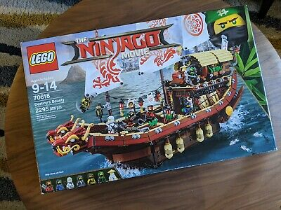 LEGO Ninjago Movie Destiny's Bounty 70618 — *100% Complete, Retired Set*
