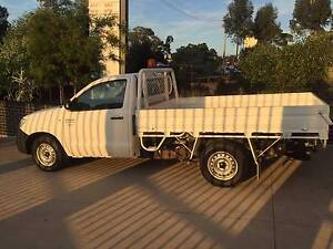 2008 TOYOTA HILUX WORKMATE MANUAL TGN16R ALLOY TRAY UTE,1 OWNER Westmead Parramatta Area Preview