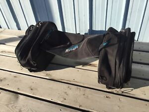 Saddle bag for sled or bike