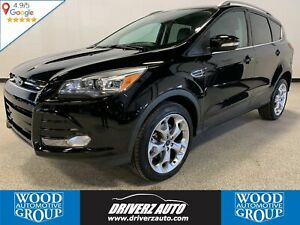 2016 Ford Escape Titanium ONE OWNER, CLEAN CARFAX, BLIND SPOT...