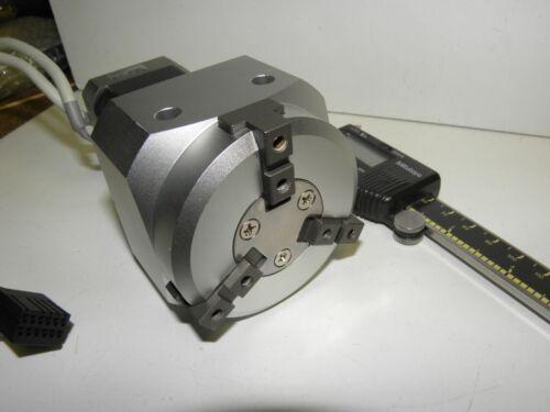 SMC Electric Slider Actuator LEHS32K3-8 3-finger grippers