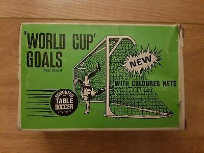 SUBBUTEO C130 WORLD CUP GOALS WITH COLOURED NETS BOXED COMPLETE