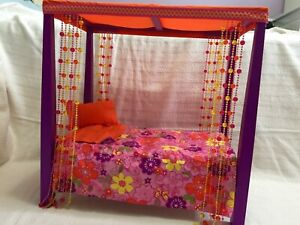 Julie's bed and bedding  America girl