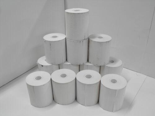 Thermal paper 4 inch width Qty12 rolls (112mm width)
