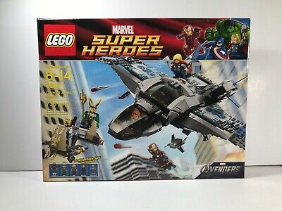 Brand New- Lego 6869 Avengers Super Heroes Quinjet Aerial Battle Factory Sealed