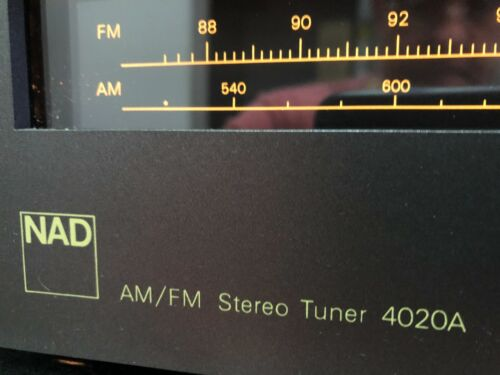 NAD AM/FM Stereo Tuner 4020A - Vintage 1981, Excellent Condition,