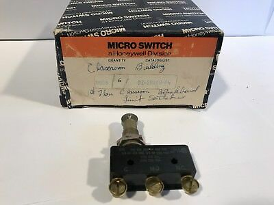 Micro Switch Bz-2rq18-p4 Honeywell
