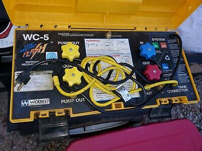 Watsco Wc-5 Flash Refrigerant Recovery System