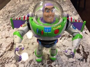 Talking Buzz Lightyear Toy Story Disney Hasbro 2001