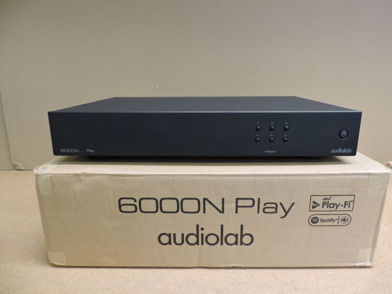Audiolab 6000N Play Wireless Streaming Player (Black)