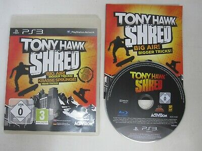 Tony Hawk Shred - PS3 (PAL) Game Sony Playstation 3