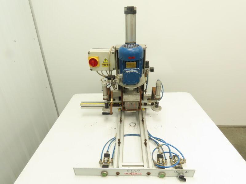 Uniholz Star Hinge Drill Machine Hinge Boring And Insertion Machine 1hp 230v 3ph