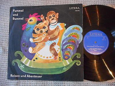 FUMMEL UND BUMMEL Reisen Und Abenteuer  LITERA LP 1968 rare