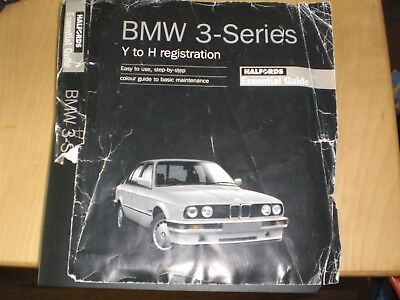 BMW 3 series Y to H reg Halfords guide