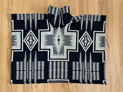 Pendleton Portland Collection Poncho Women's One Size Used Made in (Made In Portland)