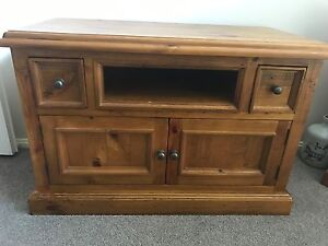 Timber TV Cabinet Maryland Newcastle Area Preview