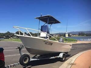 4.5m aluminium centre console boat Oak Flats Shellharbour Area Preview