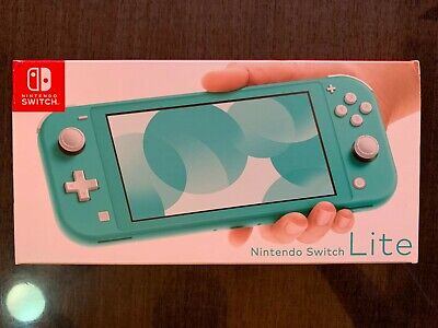 Nintendo Switch Lite Handheld Video Game Console Turquoise - Brand New in stock