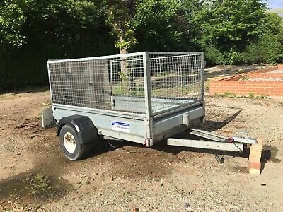 Indespension-750kg-Trailer-Single-Axle, chequer plate Ramp Tail