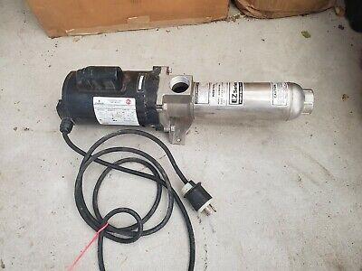Used Webtrol Ez Series H20b6s16m Stainless Booster Pump 20gpm 1hp 1ph - Wa4